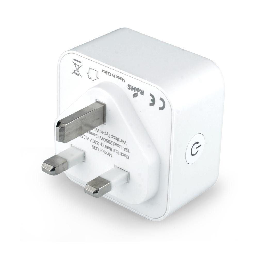 Tuya APP Smart Life APP Remote Control Socket 10A US EU WIFI Smart Wall Plug for Alexa, Google Home, IFTTT, No hub required
