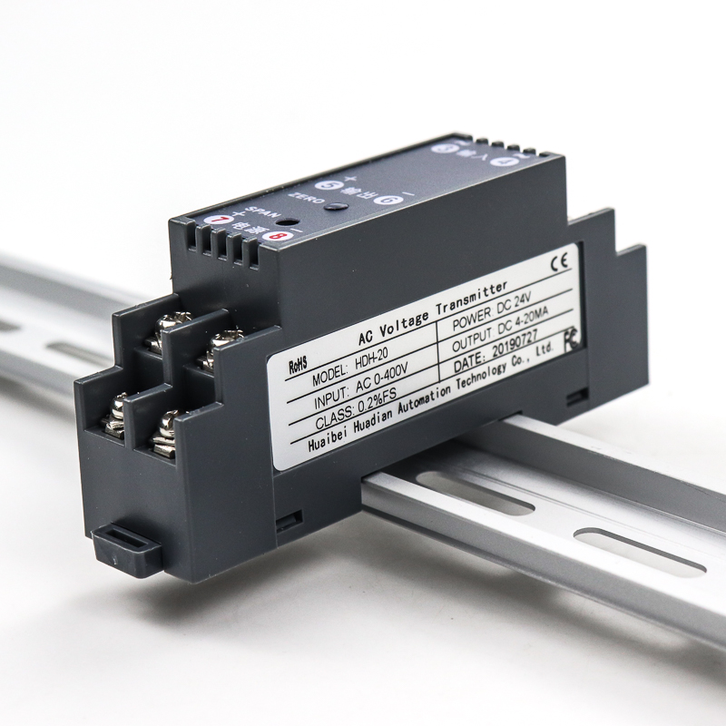 Loulensy AC Voltage Transducer Voltage Sensor Transmitter Transformer Input 0-350V AC Output 0-10V DC