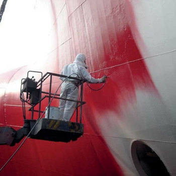 Chlorinated Rubber Anticorrosive Finish paint coating for boat