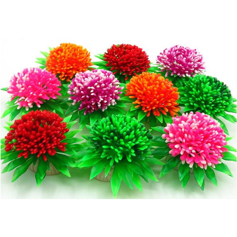 Artificial Aquarium Plants Decor Plastic <strong>Fish</strong> Tank Plants Decorations Ornament Large Aquatic Plant, Non-Toxic &amp; Safe for <strong>Fish</strong>