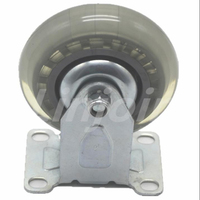 "High Quality Light Duty 3"" Small Roller Blade Wheels Furniture Office Chair Locking Flat Caster"