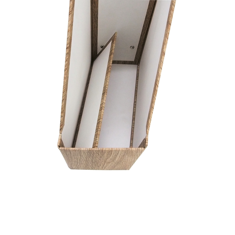 Custom storage holders desktop stationery office paper material stand magazine cardboard file holder