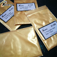 High quality shimmer dusting gold powder, gold pearl pigment for nails resin epoxy slime paint use