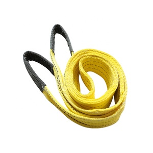 Custom safety lifting strap 6m 3ton/6600LBS polyester webbing sling for lifting goods