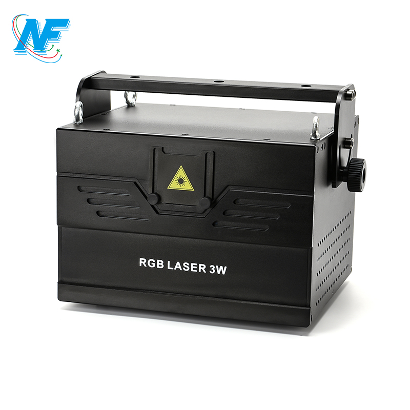 Made in china disco rotating laser light 5W RGB animation dj laser projector