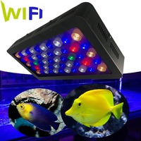New arrival intelligent WIFI control 165W coral reef marine led aquarium lighting for croal reef fish tank