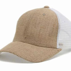 GZ Men Cap OEM All Sizes Supported Wholesale Hemp Trucker Hats
