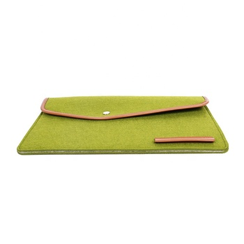 Hot custom felt 13 13.5 15.6 17 19 20 inch laptop sleeve for hp dell acer
