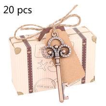 20шт Свадебная открывалка для бутылок туристический компас сувениры бумажные конфеты подарочная коробка с биркой свадебный подарок для гос...(Китай)