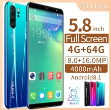 2019 neue P33 Android <span class=keywords><strong>Smart</strong></span> <span class=keywords><strong>Telefon</strong></span> 4 + 64G, 5,72 zoll 3G Fabrik Preis <span class=keywords><strong>telefon</strong></span>