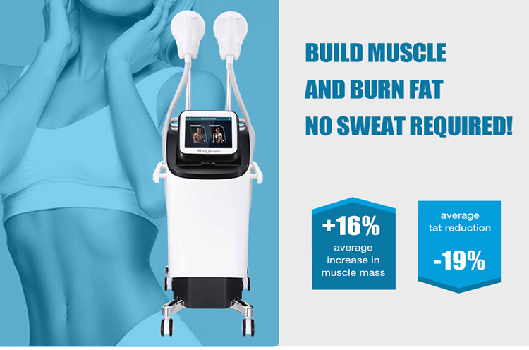2020 Latest Body Sculpt Burn Fat With High-Intensity Fat Removal Ems Build Muscle machine