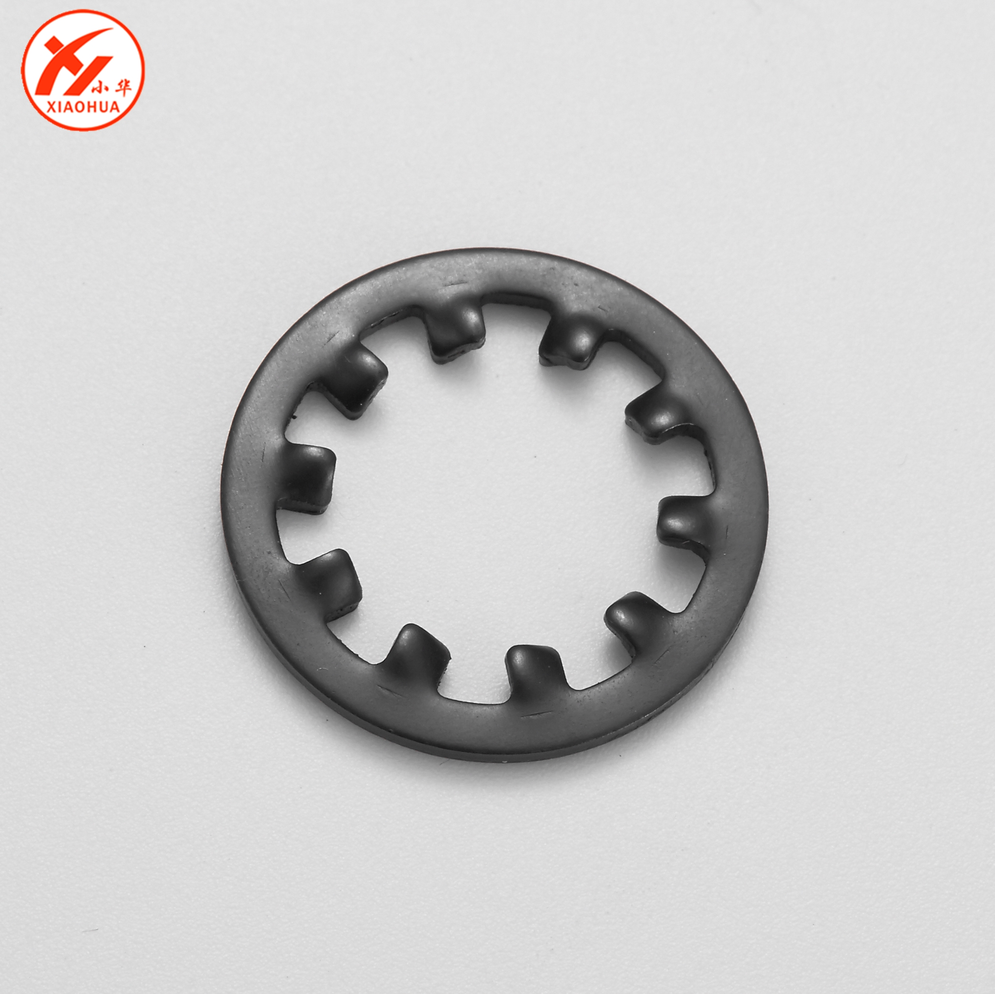 Zinc Plated External TypeA Metric DIN 6797 Type A Steel M3.5 Tooth Lock Washers 10000 pcs
