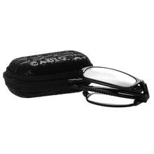 Складные очки для чтения очки с Чехол Для женщин Для мужчин синий светильник блокирующий считывание увеличительные пресбиопические очки + 1...(Китай)