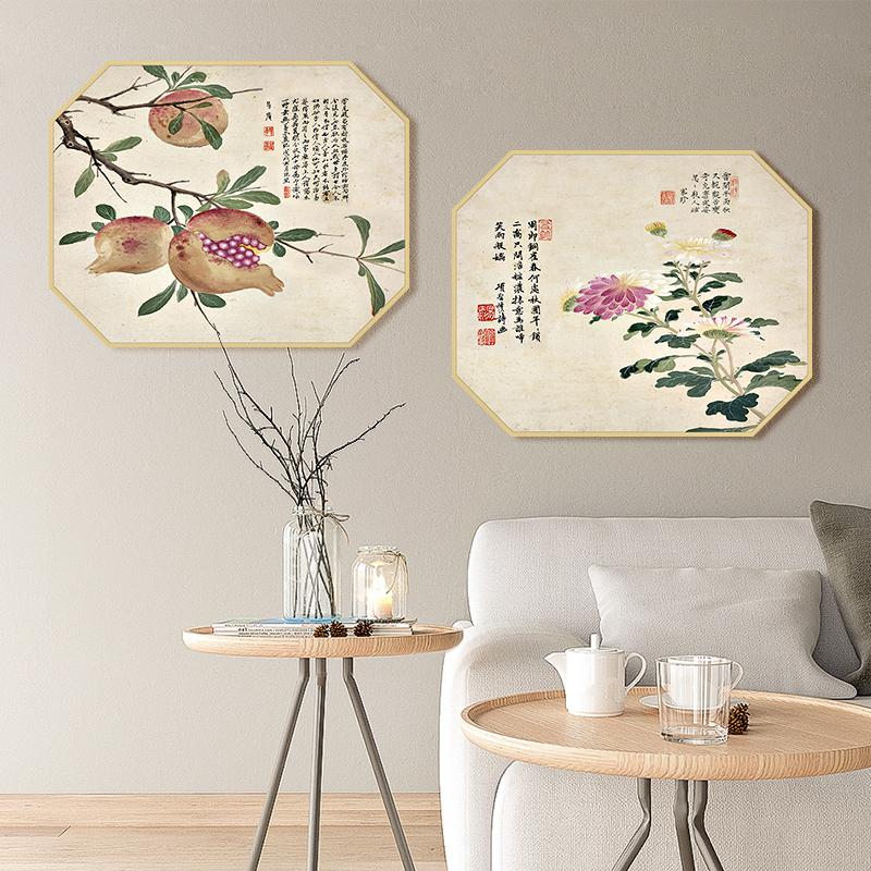 El más nuevo estilo chino clásico de pintura al óleo de arte sobre lienzo digital DIY pintura moderna tela de cuadros diseños