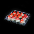 Factory Outlet plastic pvc fruit trays fruit container plastic food disposable containers plastic and papers