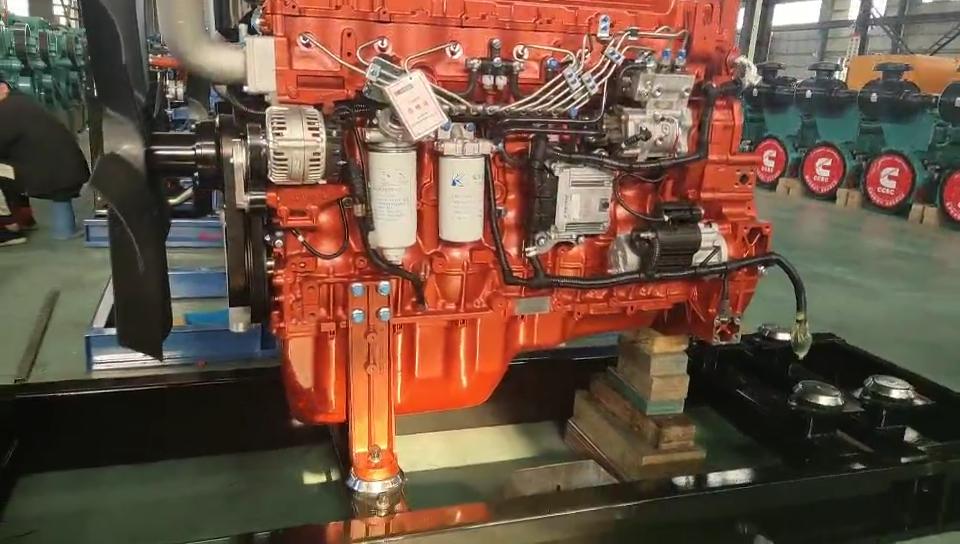 300KW Turbine Natural gas/Propane /Biogas/LPG Generator Set China factory price