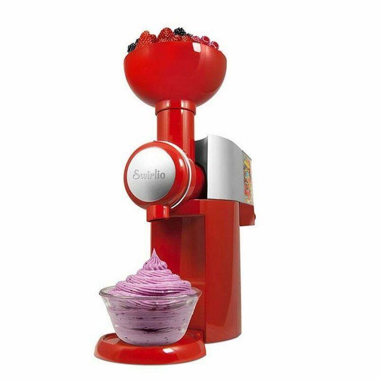 portable ice cream soft machine 110V Swirlio fruit Ice Cream Maker