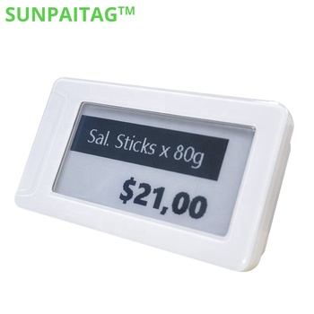 Do you know the reason why retailers use the price tag e paper display
