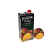 "WHOLESALE DELICIOUS""""FRUITTIS"""" MANGO NECTAR FRUIT JUICE FROM CONCENTRATE MIN 35% HELI-CAP 12X1L"