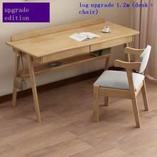 Стоящий Schreibtisch Mesa Biurko подставка для ноутбука Escritorio кровать Tavolo винтажный столик для ноутбука тумбочка для учебы компьютерный стол(Китай)