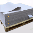 Pet transfer ivory board penang white coffee color paper packing pearlized cardstock