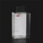 Small clear plastic retail packaging case packing boxes for hair brush