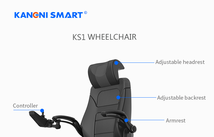 K137N E wheelchair for adult full function power wheelchair for elderly and disable outdoor wheelchair