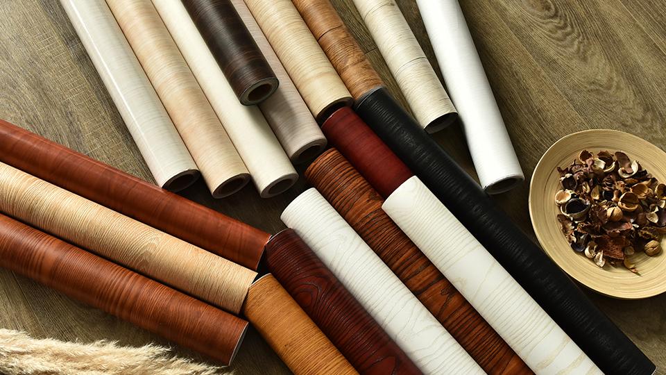 Пользовательская ширина 120 см Настенная бумага пвх декоративный материал водонепроницаемый интерьер стены деревянные обои