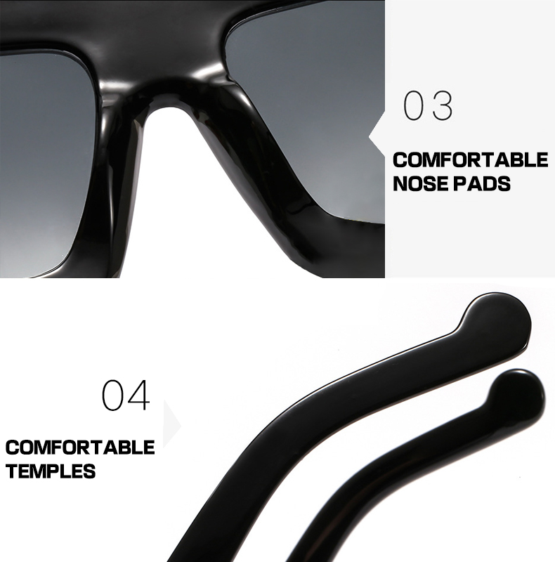 Fuqian Latest oversized designer sunglasses manufacturers-11