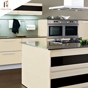 New product ideas 2019 White Lacquer kitchen cabinet Easy Fitted Home Kitchen Furniture modern kitchen cabinets
