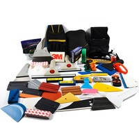 Craft Vinyl Weeding Tools Vehicle Vinyl Install Scraper Squeegee Set Auto Window Tint Car Vinyl Wrap Kit Car Wrapping Tools