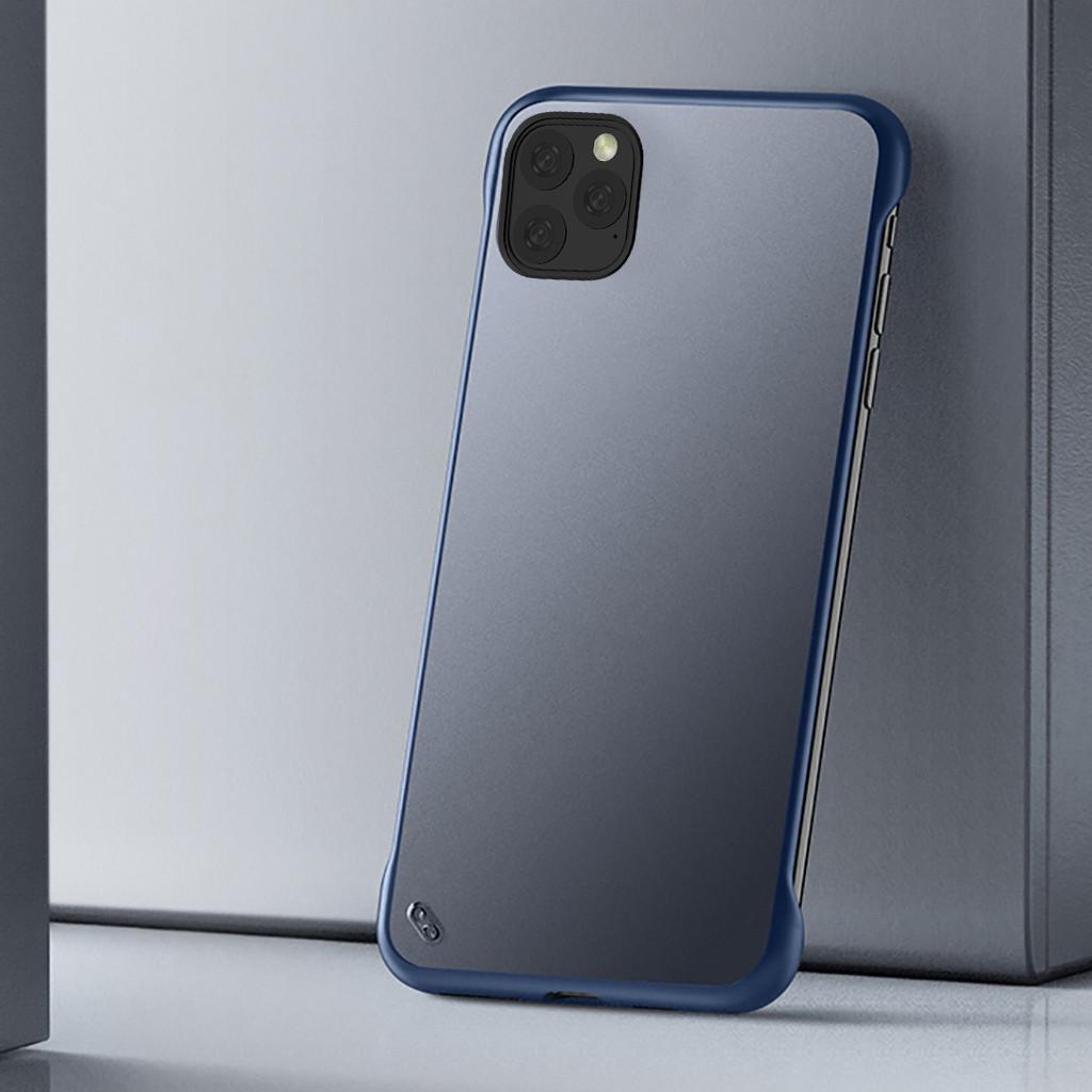 Чехол для Iphone 11 Pro Max 6,5 дюймов ультра тонкий Бескаркасный чехол прозрачный полупакет Pc защитный чехол(Китай)