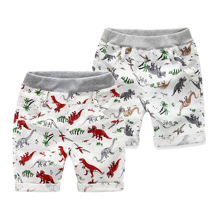 Wholesale Boys shorts High quality 100% Cotton Kids Casual pants Printed cartoon Children's Sports Shorts