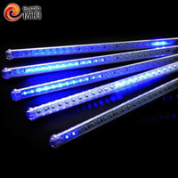 bar decoration led meteor shower light