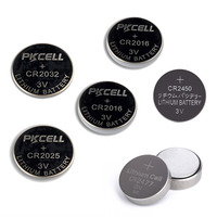 All size button coin cell 3v lithium battery CR2025 CR2016 CR2032 CR2450