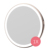 Private Label USB Charging Makeup Led Light Cosmetic Pocket Mirror