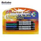 Reliabo Set Multicolor Plastic Permanent Marker Pen