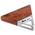Wholesale of stylish style all in one triangle design Acute Angle B4 8GB RAM Mini PC Special design by wood, as a piece of Art