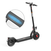 NEW brand 2 wheels folding 36V adult electric scooter With LED Lights