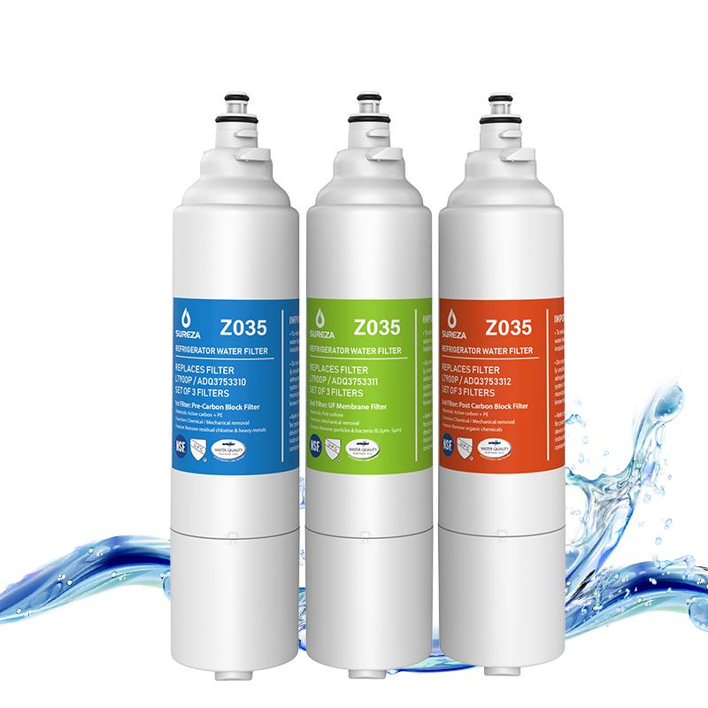 2019 New Model LT900P Refrigerator Water Filter NSF Certified Water Filter