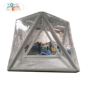 Inflatable Transparent air-tight trade show tent