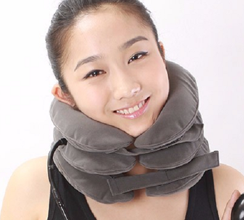 Fashion Neck Support Brace Cervical Back Shoulder Headache Pain Relax Kit Device
