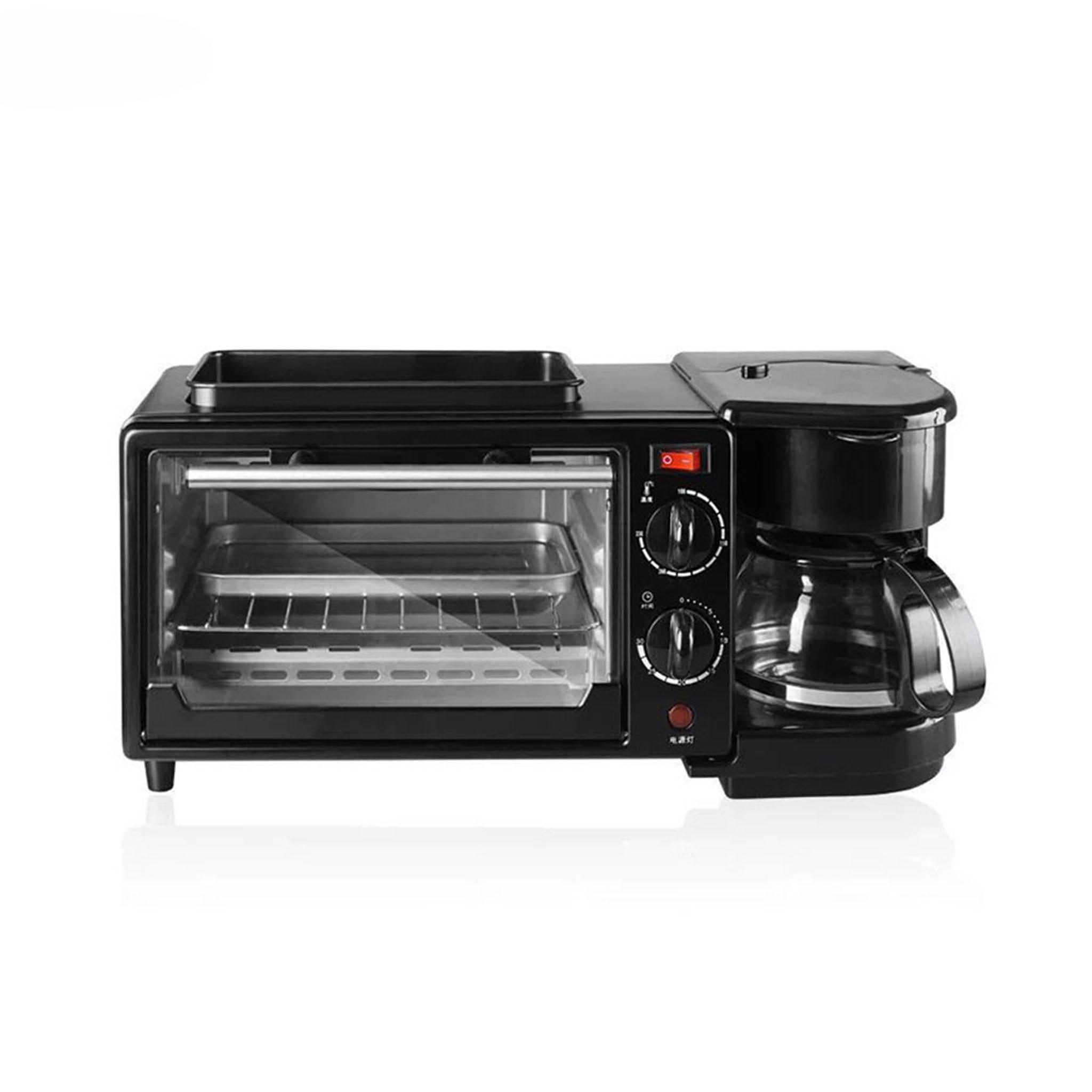 Breakfast Sandwich Maker With Drip Coffee Automatic Multifunction Breakfast Maker 3 in 1