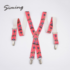 New fashion design customized cheap carton suspender kid
