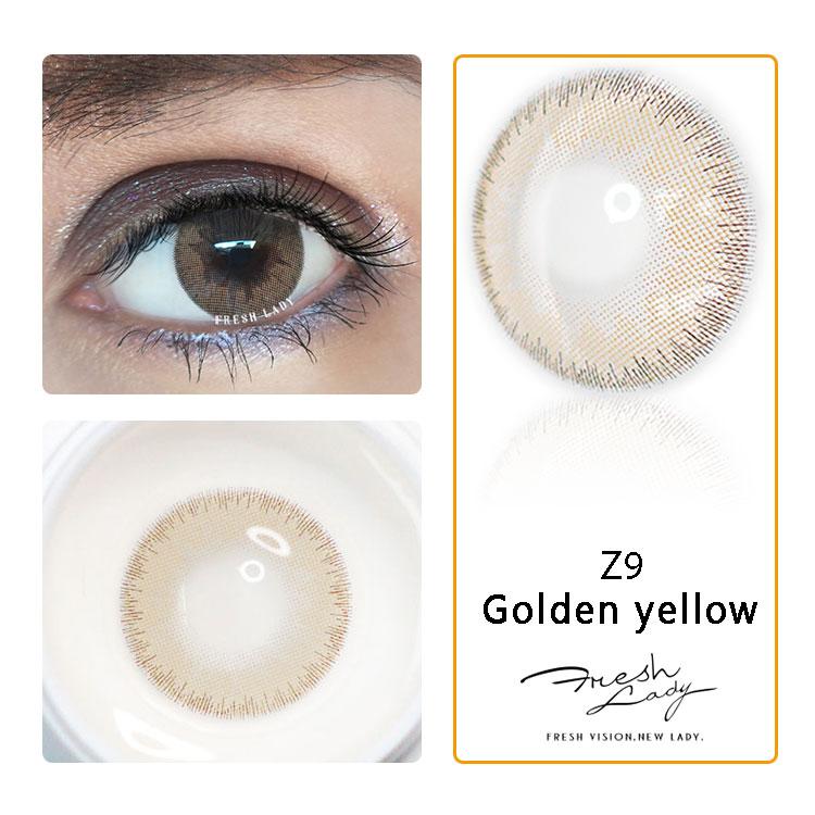 새로운 디자인 2019 핫 콘택트 렌즈 연간 멋진 렌즈 클리너 화이트 사진