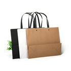 new fashion cheap price cost paper bag tape handle kraft paper bag thank you paper bag