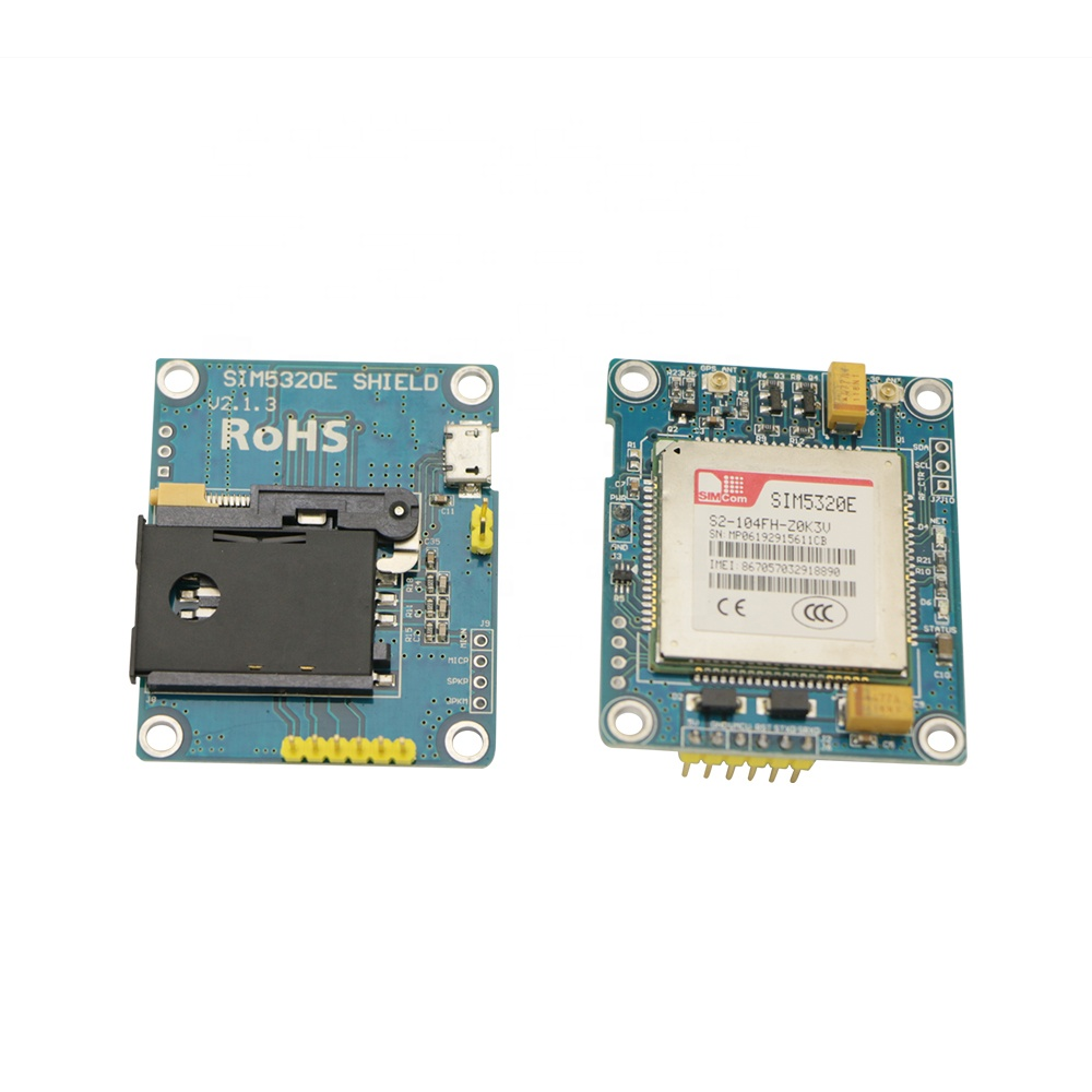 SIM5320E 3G Module GSM GPRS SMS Development Board With GPS PCB Antenna For Arduino