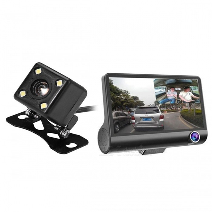 High quality 3 in 1 multi function 4inch mini 1080p dash cam user manual