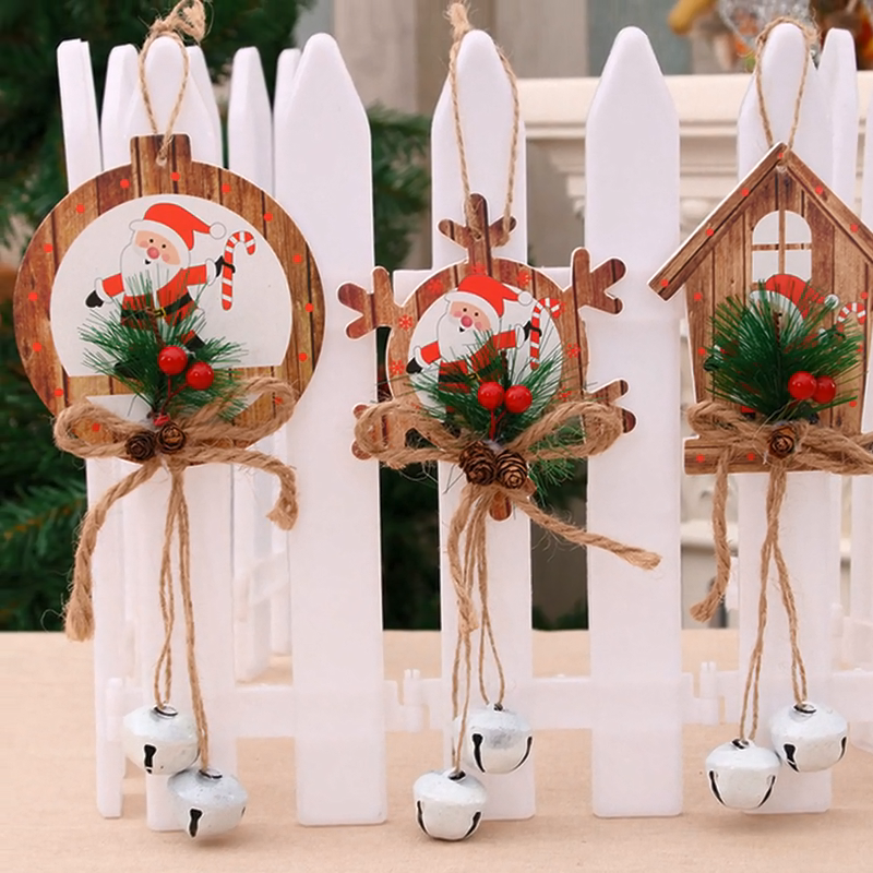 Kerstversiering Bells Hangers Kerstboom Ornamenten Deur Hangers