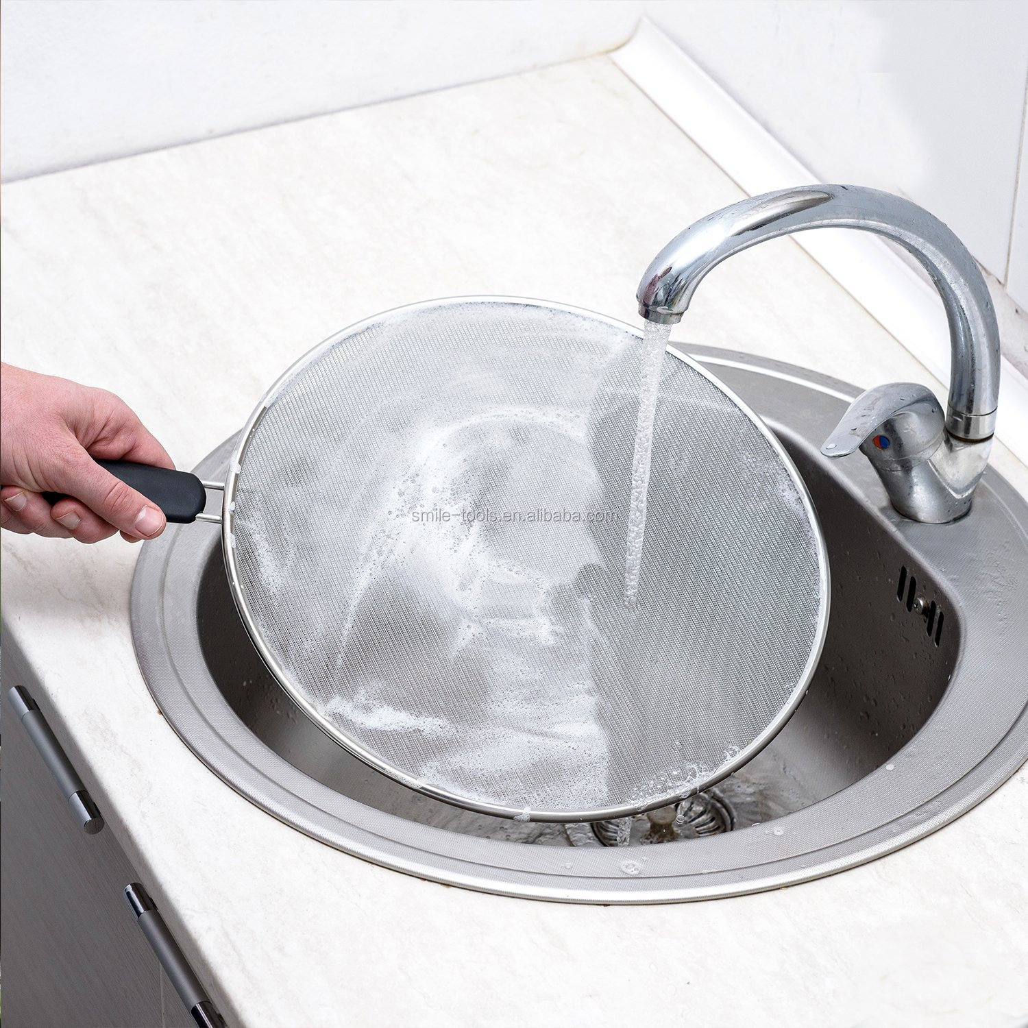 Specialty Tools Splatter Screen Safe Cooking Lid Keeps Kitchen Clean Splatter Guard for Cooking